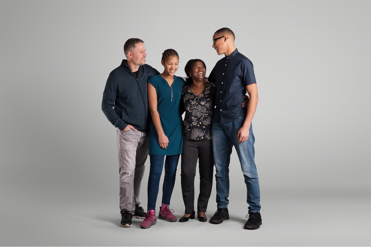 One Family brand photography style