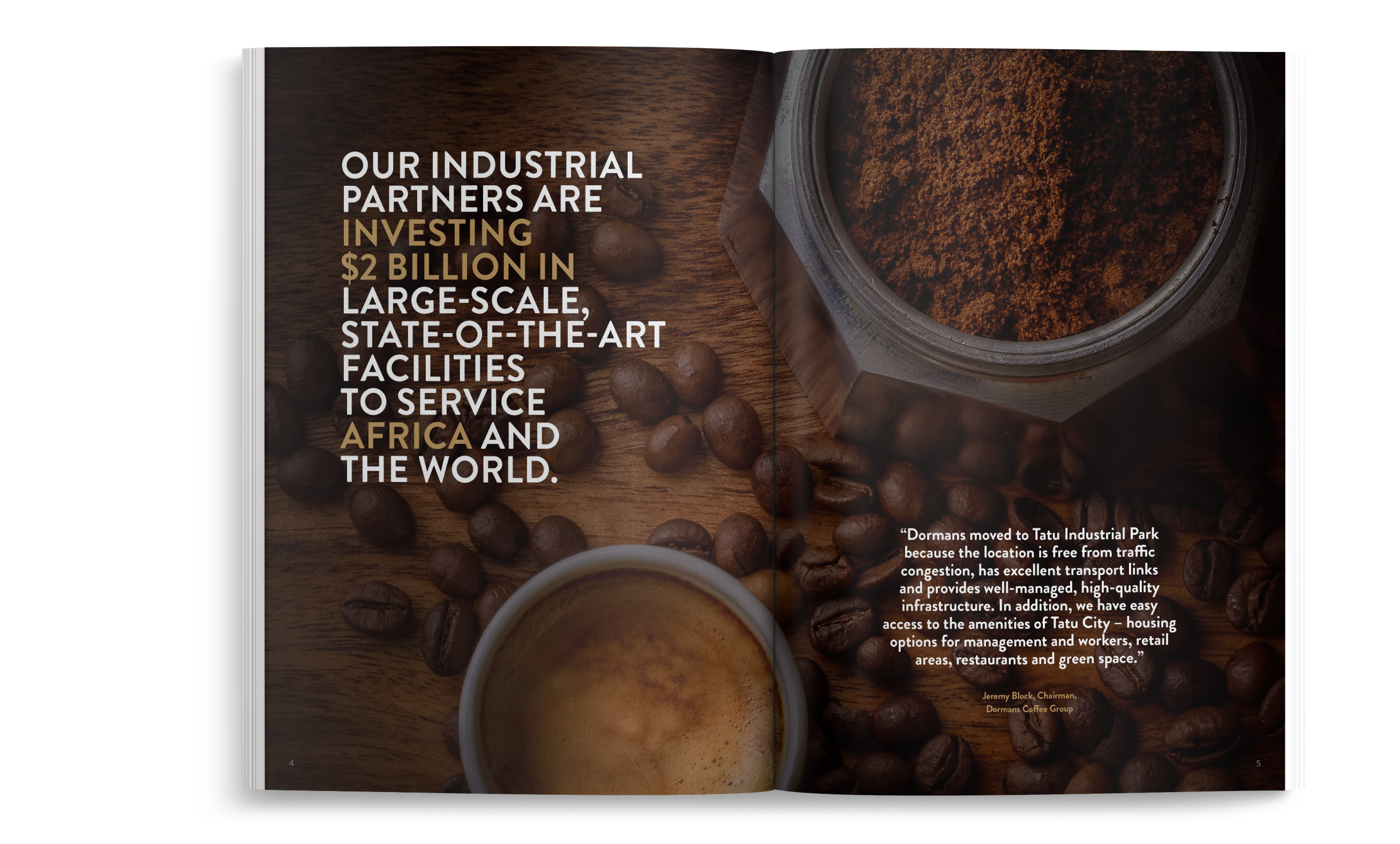 Rendeavour Business Brochure for Coffee industry