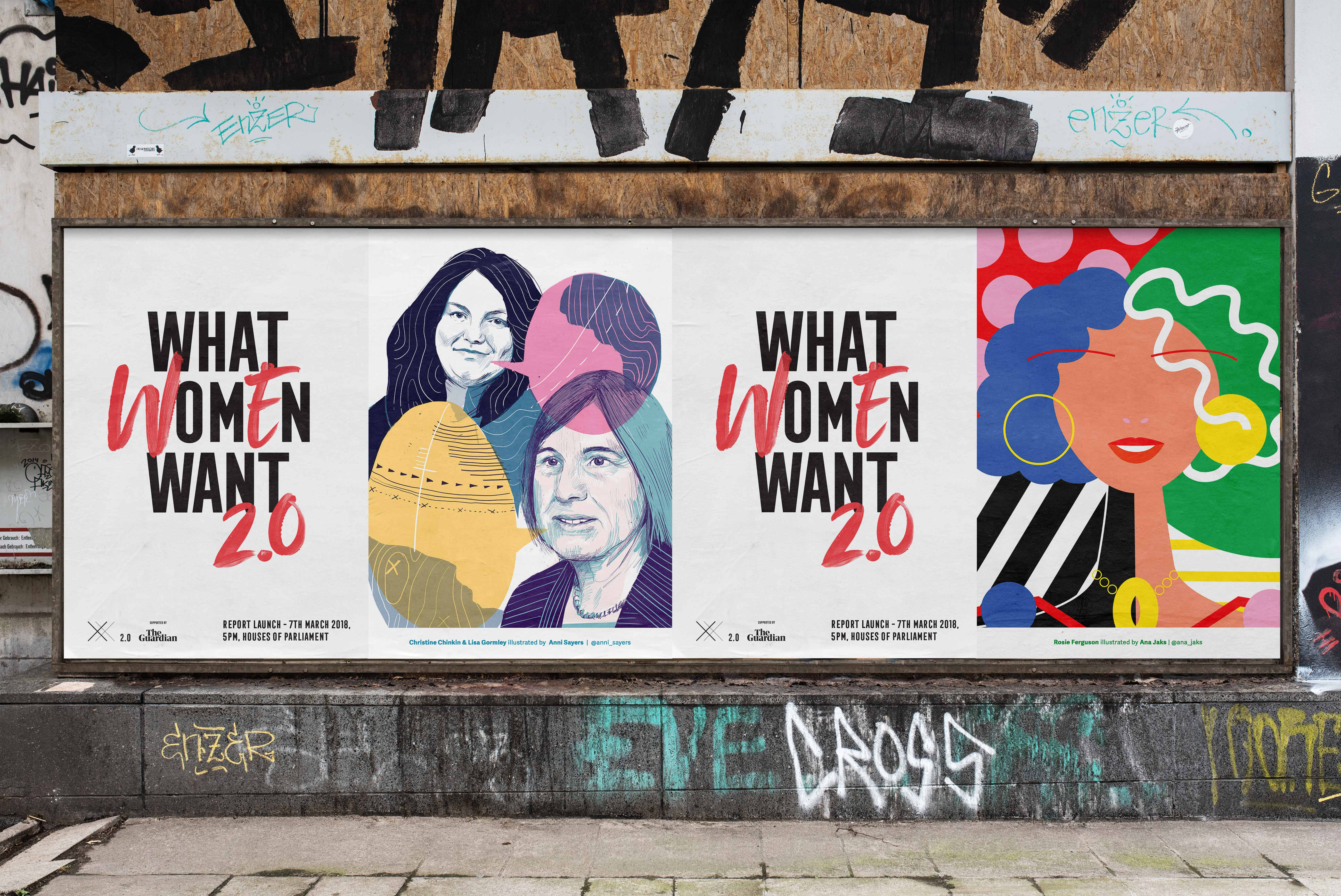 What Women Want poster design